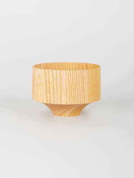 Tsumugi Wooden Bowl - Tsubo Natural
