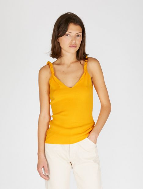 Twist Shoulder Tank Top