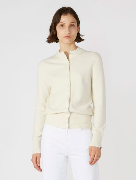 n°99 Little Cashmere Cardigan - Cream