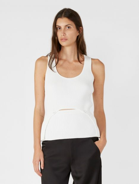 Adjustable Scoop Neck Tank