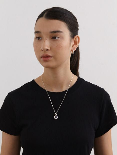 Albion Mews Necklace - Silver