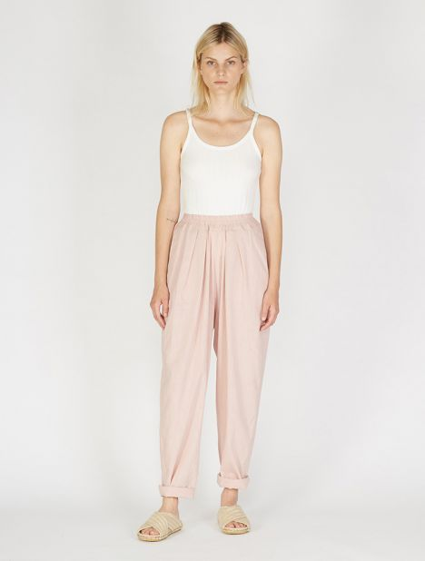 Chico Cotton Pant - Pink