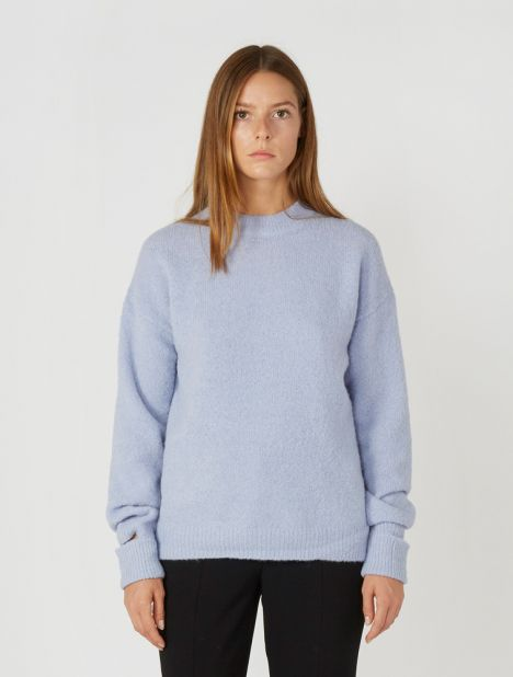 Airy Alpaca Sweater - Mauve