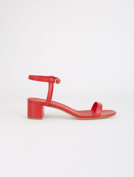 Ankle Strap Leather Sandal - Flamma