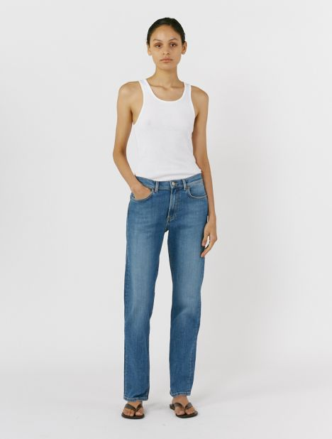 Autobahn Mid-Rise Relaxed Jean