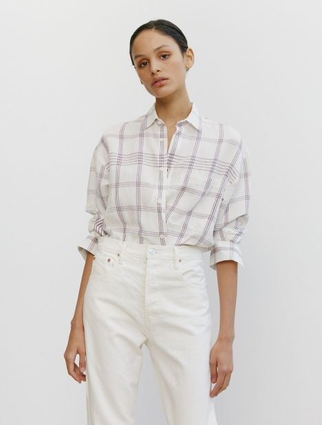 Baou Linen Check Shirt