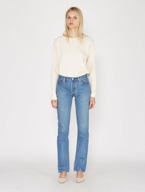 X Levis The Cindy Straight Leg Jean