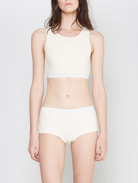 Basic Bell Briefs - Off-White