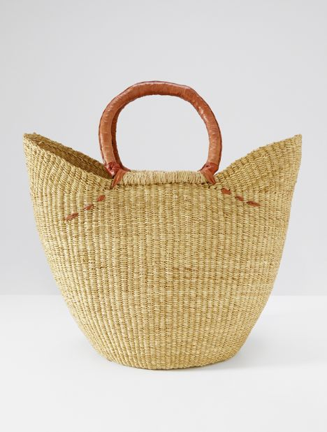 Basket Bag - Tan