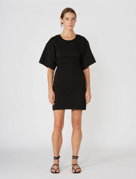 Double Jersey Batwing Dress