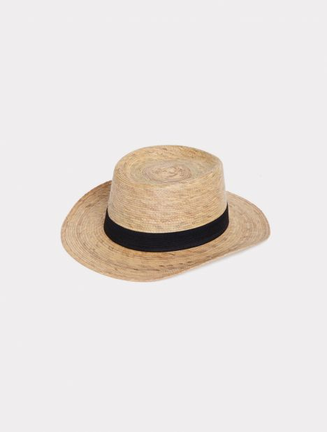 Boater Cooked Straw Hat