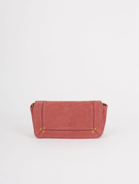 Bob Leather Shoulder Bag - Dusty Pink