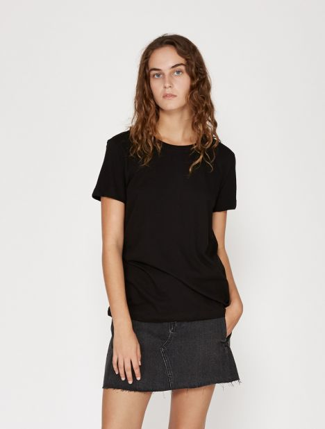 Organic Cotton Boy Tee - Black