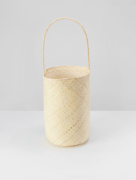 Bucket Tote Bag - Natural