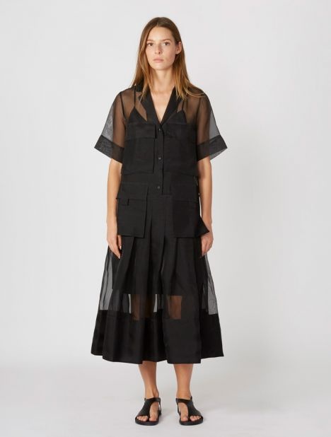 Callie Organza Maxi Dress