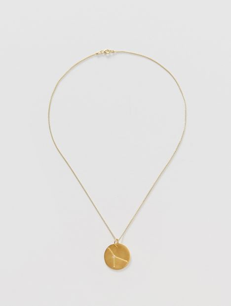 Cancer Zodiac Constellation Pendant Necklace