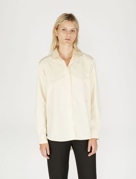 Capri Cotton Shirt - Chamomile