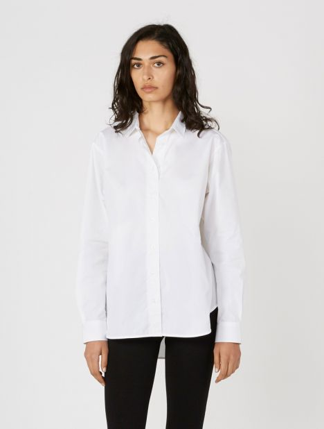 Capri Cotton Shirt - White