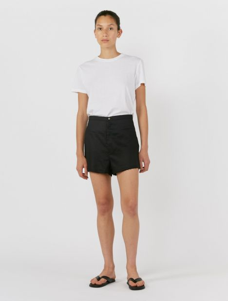Capri Raw Edge Short