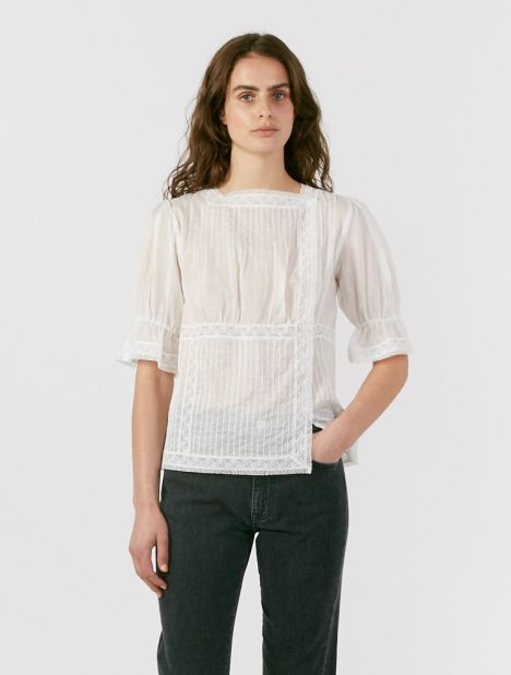 Caprice Lace Top