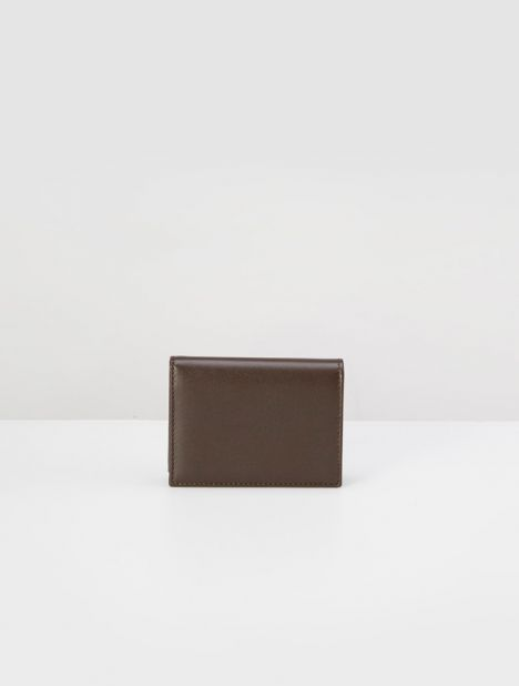 Classic Line Card Holder - Brown