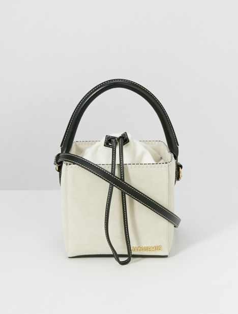 Carre Cube Shoulder Bag - Off-White