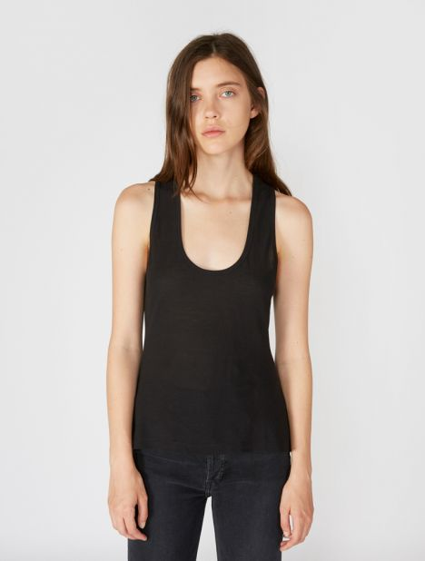 Cinched Racer Back Tank
