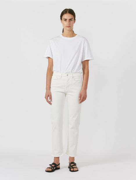 Classic Mid-Rise Jean - Natural White