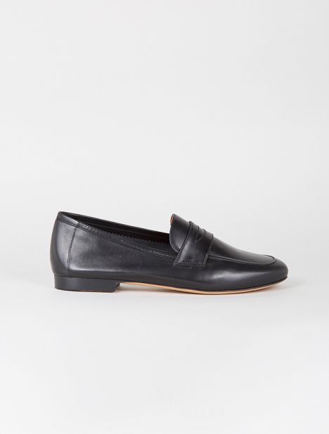 Classic Leather Loafer - Black