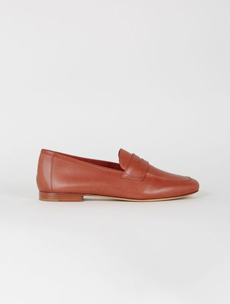 Classic Leather Loafer - Brandy