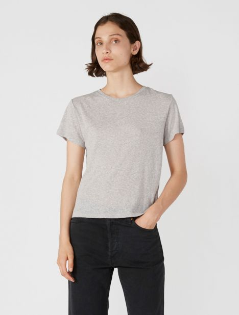 X Hanes Classic Tee - Heather Grey