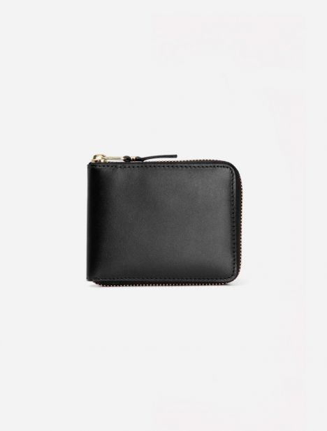 Classic Leather Zip Wallet