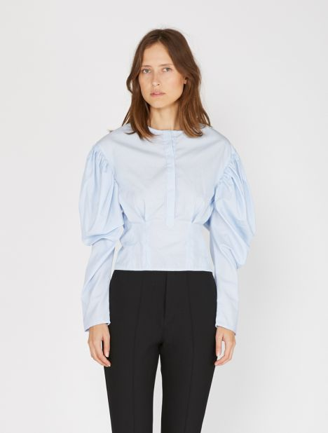 Puff Sleeve Cloud Shirt