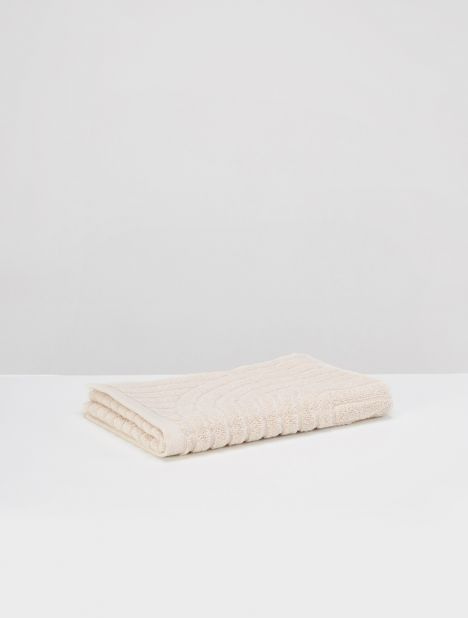 Clovelly Organic Cotton Hand Towel - Clay