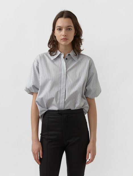 Collected Short Sleeve Shirt - Stripe