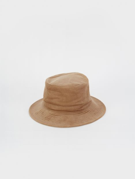 Cord Bucket Hat - Tan