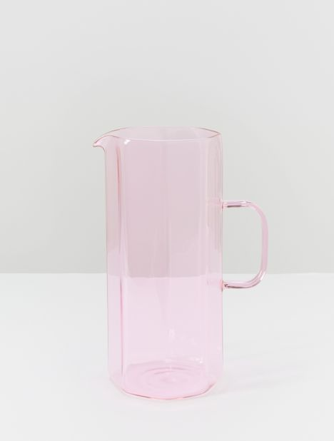 Coucou Glass Jug - Pink