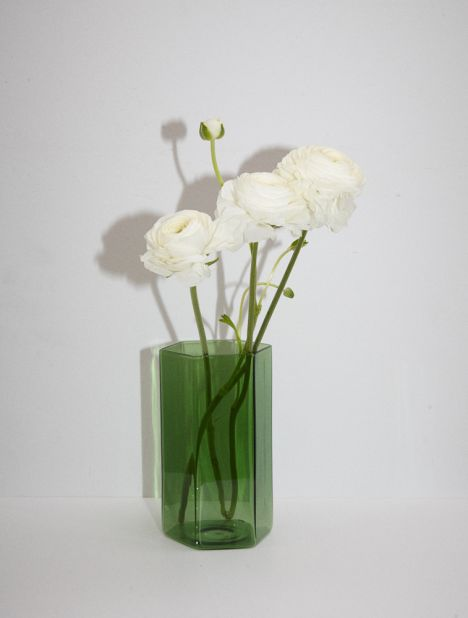 Coucou Glass Vase - Green