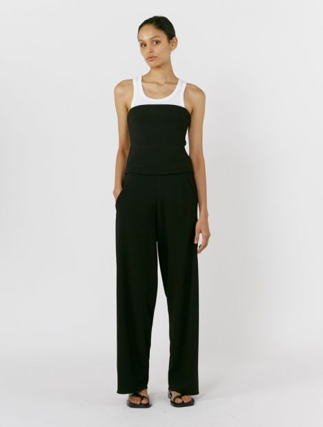 Exclusive | Crepe Bias Trouser