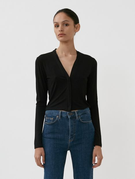 Hero Cropped Jersey Top