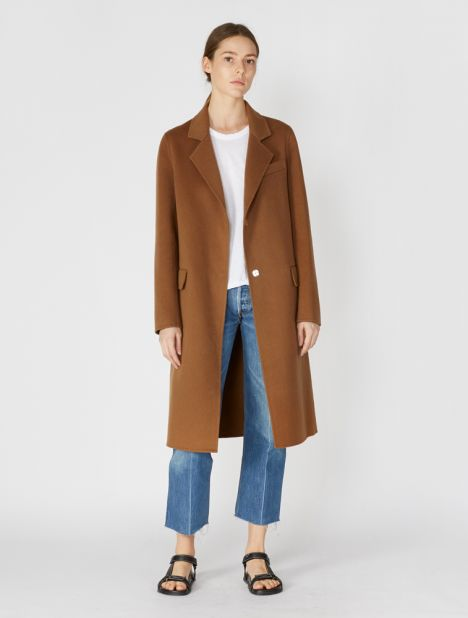 Dallas Wool Cashmere Coat