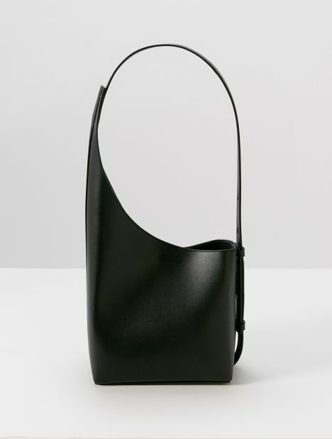 Demi Lune Shoulder Bag - Black