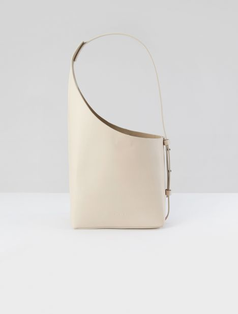 Demi Lune Shoulder Bag - Lin