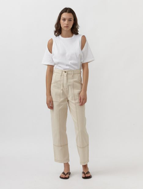 Recycled Cotton Denim Trouser