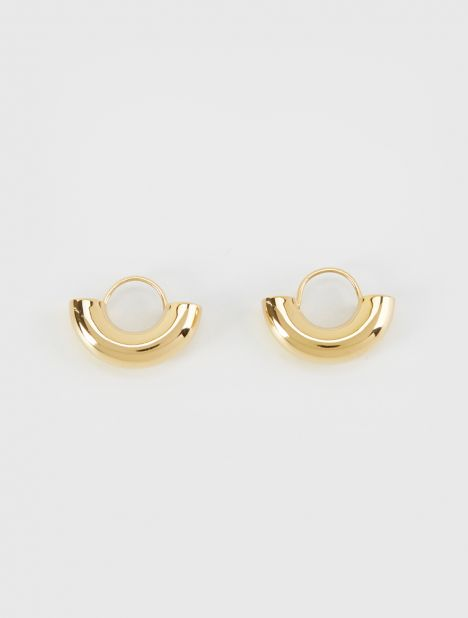 Dinner Date Earrings - Gold