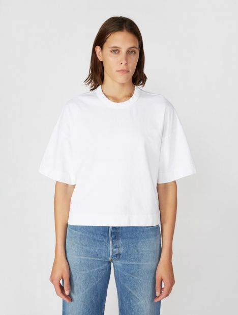 Double Jersey Boxy T-Shirt