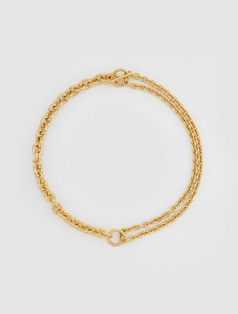 Double Necklace - Gold