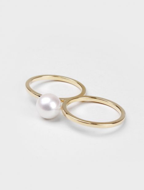 Double De Perle Ring