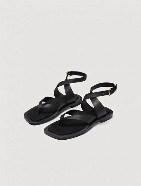 Dylan Leather Sandal