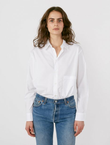 Elma Oversized Cotton Shirt